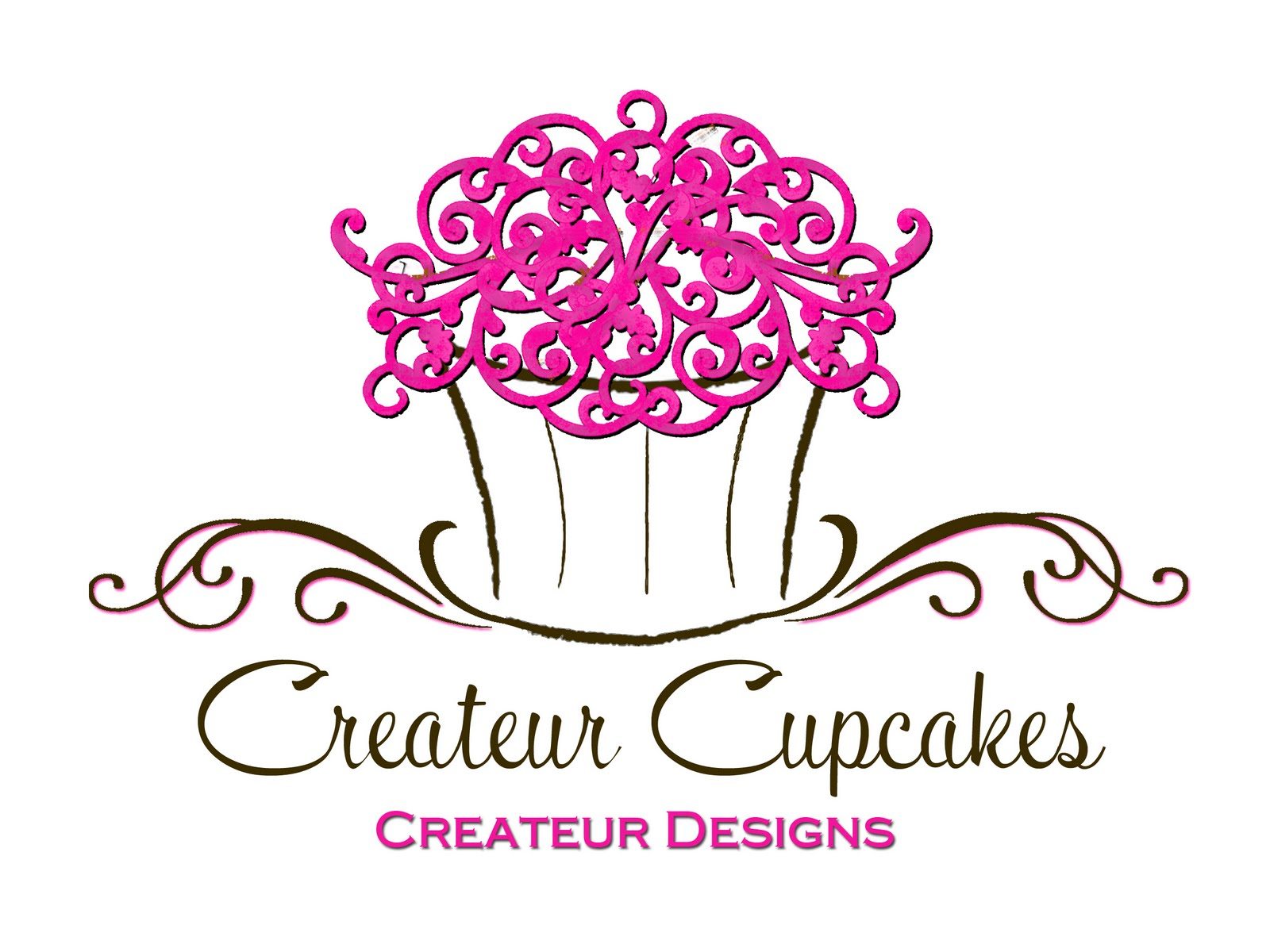 Createur designs createur cupcakes i was inspired by a cupcake business card i saw on vistaprint but added my own little flares fonts etc it was so fun and i absolutely love the new logo magicingreecefo Images