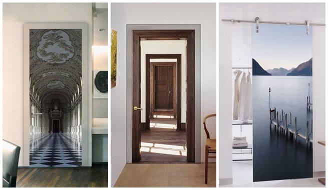 Bricolage e decora o decora o de portas arm rios - Decorar puertas de armarios ...
