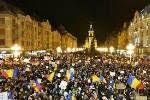 Tineri evanghelici din Timișoara: La finalul protestelor vom înălța o...