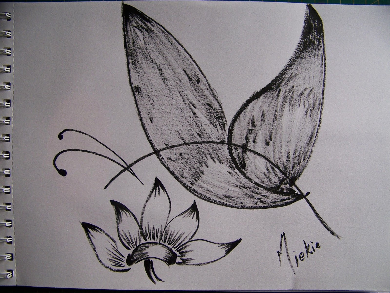 Black And White Line Drawing Flower : Flowers in ink pen dotted style eps stock photo picture and