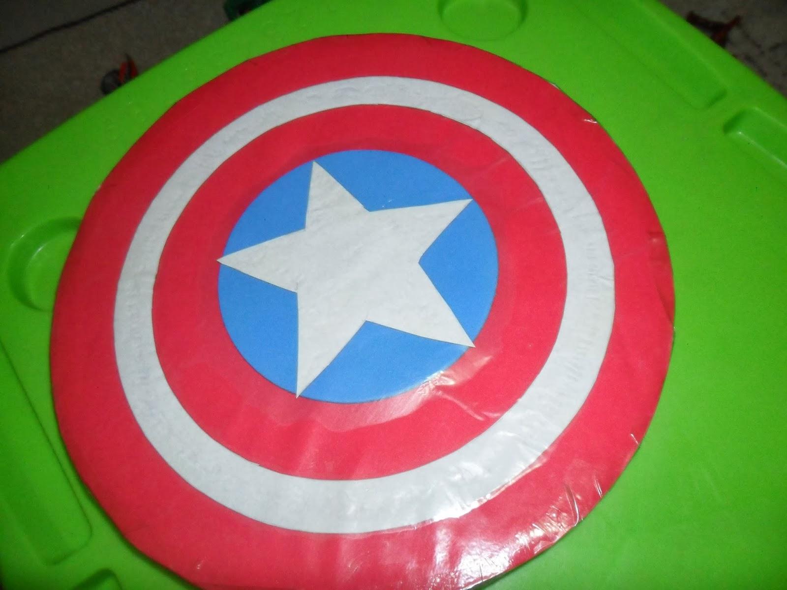 Amado Invenções de Mãe: Escudo do Capitão América. - Mãe Sem Fronteiras TQ98