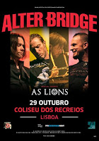 Alter Bridge no Coliseu de Lisboa