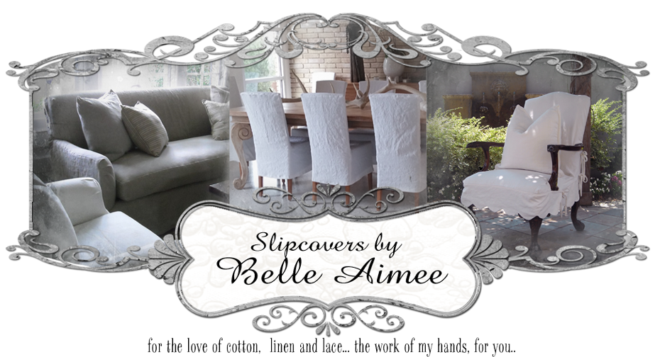 Slipcovers by Belle Aimee
