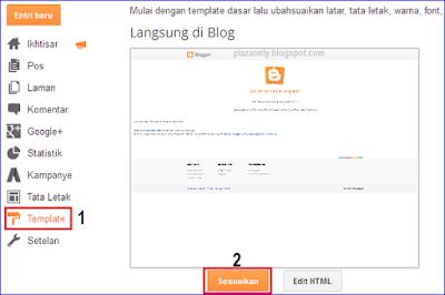Cara Mengganti Template Blog Gratis ke Premium