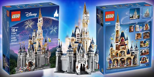 Win a LEGO DISNEY CASTLE worth $450.00 or a $450.00 AMAZON GC!!