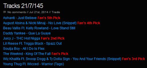 Download [Mp3]-[NEW TRACK RELEASE] เพลงสากลเพราะๆ New Singles ออกใหม่มาแรงประจำวันที่ 21 July 2014 [Solidfiles] 4shared By Pleng-mun.com