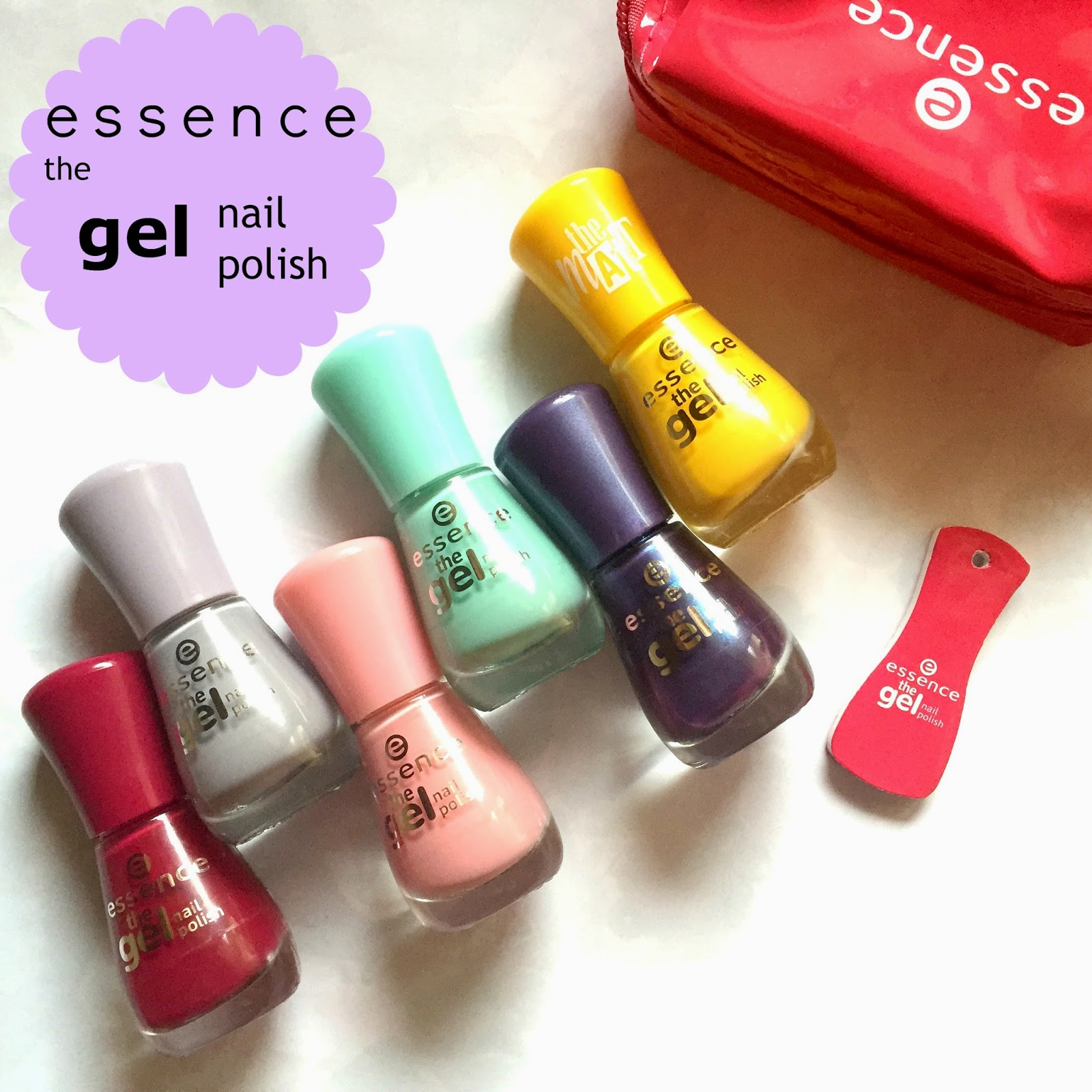 Gel Nail Polishes: Essence 'the Gel Nail Polish'