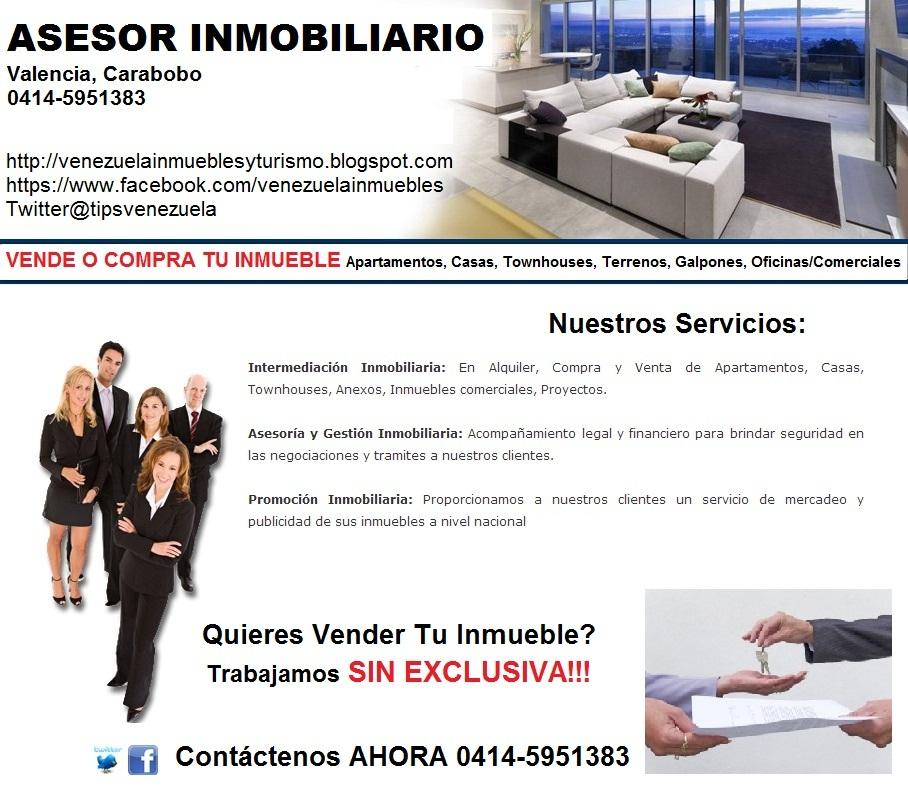 Asesor inmobiliario valencia venezuela - Compra venta de muebles en valencia ...