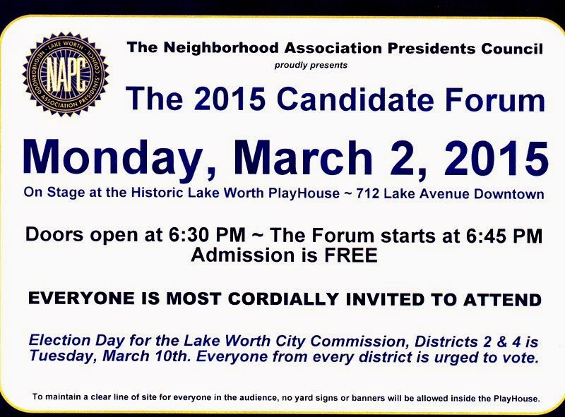 Candidate Forum LW Playhouse