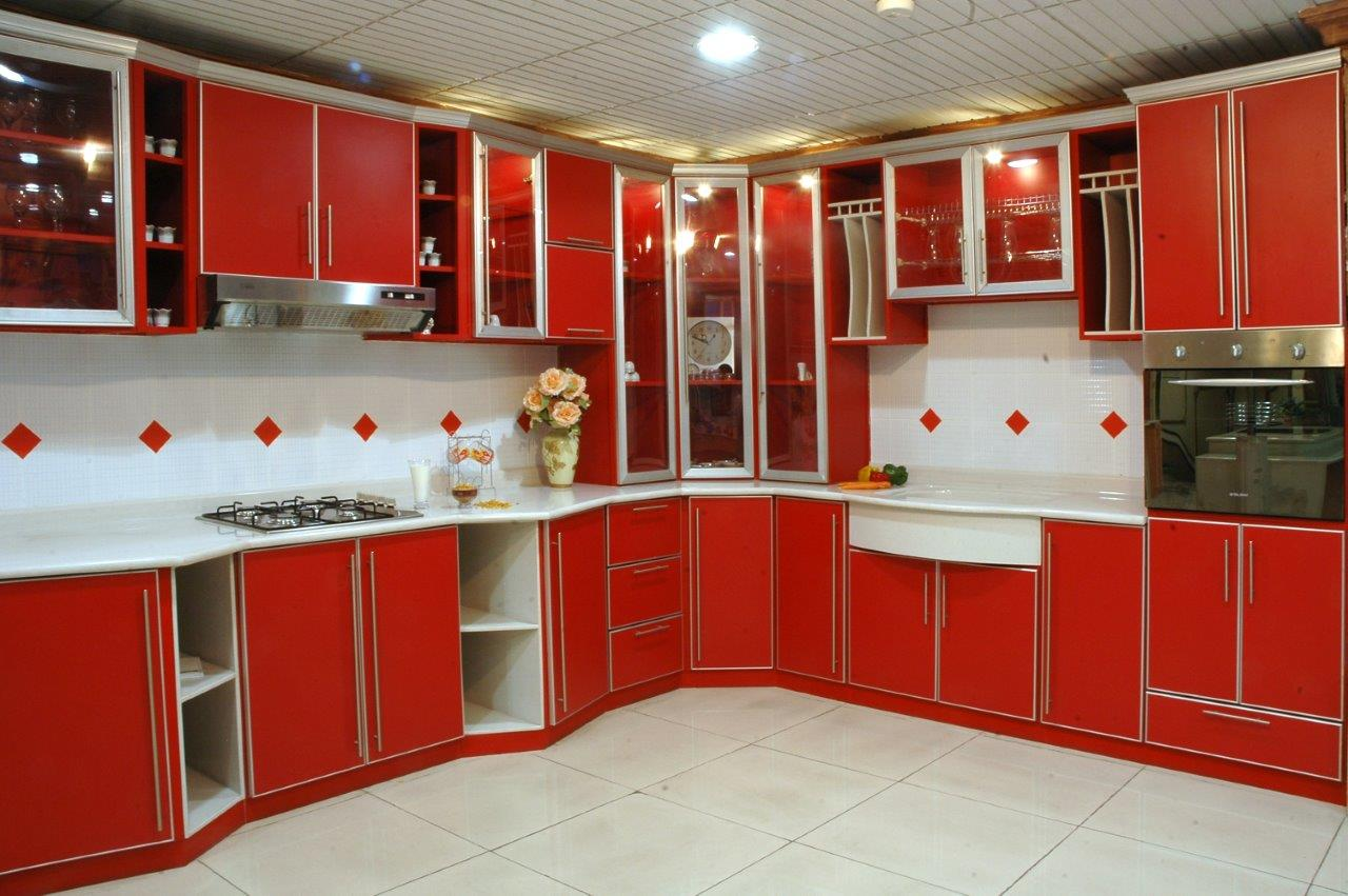 Armoire De Cuisine En Aluminium - Alamode-furniture.com