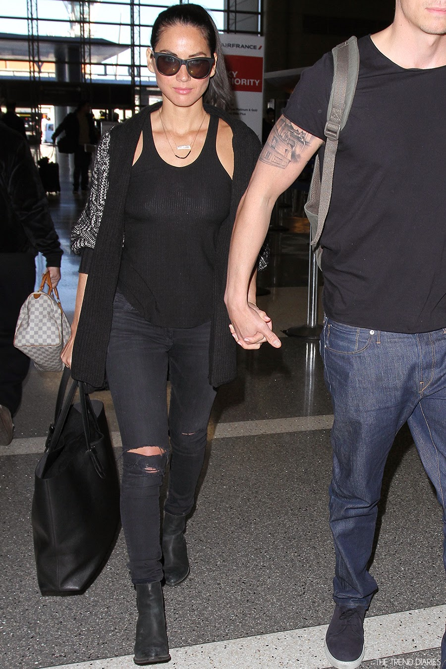 Olivia Munn At Lax Airport In Los Angeles California February 1 2014 The Trend Diaries