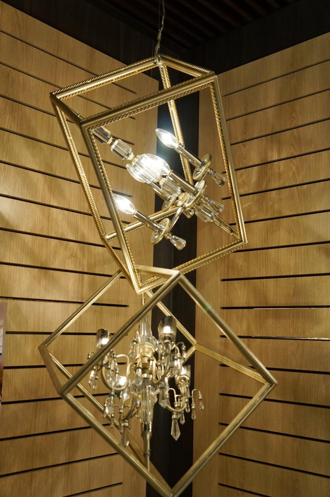 pendente Houdini de ferro forjado à mão - Corbett Lighting - Expolux 2014