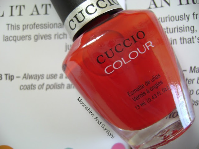Cuccio Nail polish in A Kiss In Paris