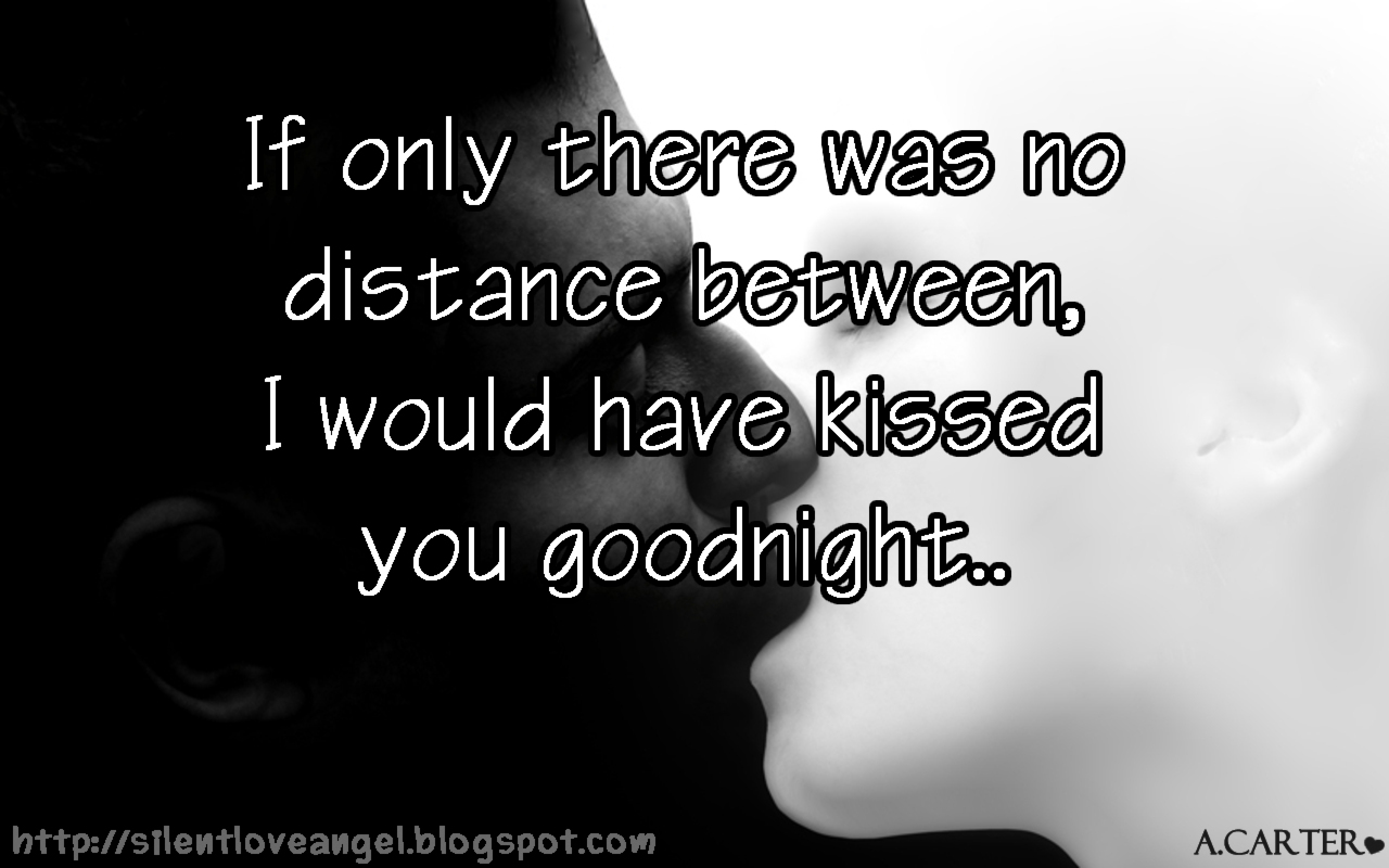 long distance message for her
