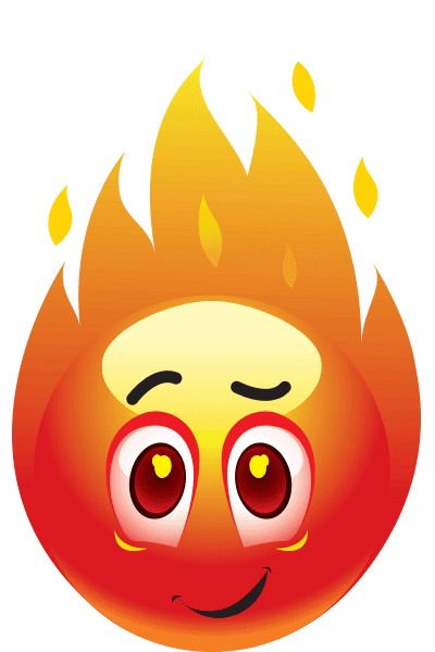 Emoticon Fire