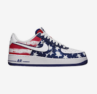 Nike 4th Of July 2015 Air Force 1 Sneakers