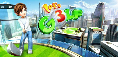Let's Golf! 3 , The best android golf apps