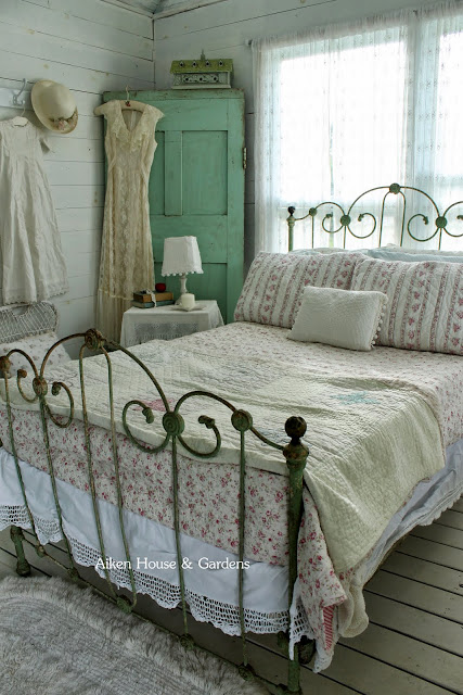 Aiken house gardens my 70 mile yard sale treasures - Shabby chic bedroom sets for sale ...