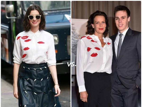 Anne Hathaway vs Princess Stéphanie of Monaco