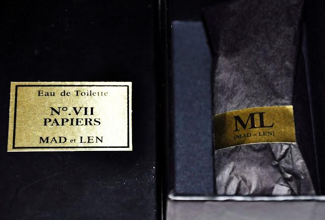 Giveaway Mad et Len Papiers