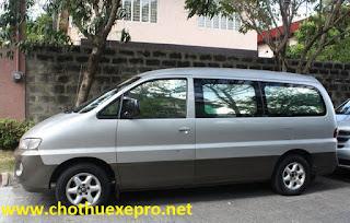 Cho thuê xe 9 chỗ Hyundai Starlex giá rẻ tại Hà Nội