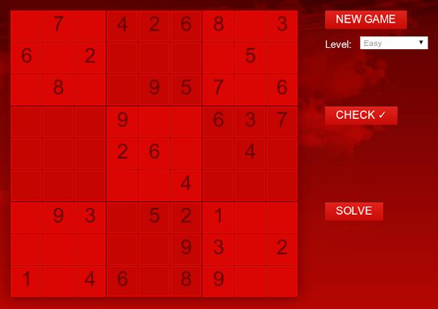 Jogue Sudoku em HTML5