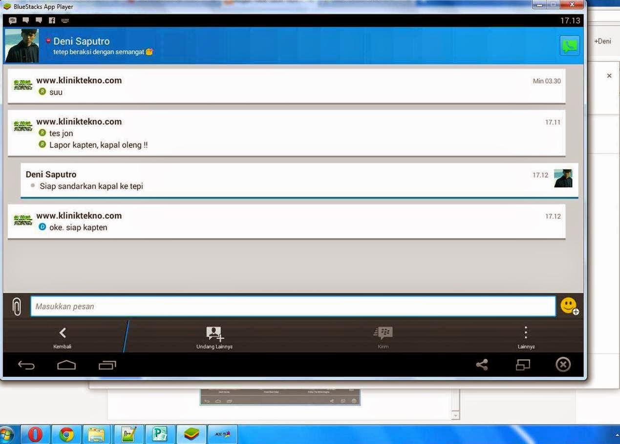 Cara Terbaru Instal Aplikasi BBM Android Untuk PC