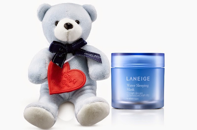 Laneige Waterful Sharing Campaign 2015, laneige malaysia, laneige, water harvesting, Laneige Goodnight Teddy Bear, laneige teddy bear, Malaysian Environmental NGOs, water sleeping mask