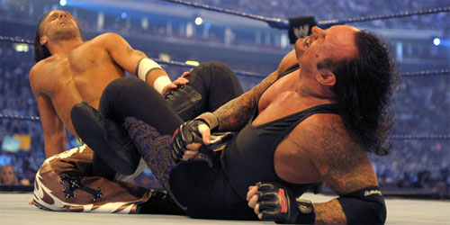 Historia del Wrestling: The Undertaker vs Shawn Michaels ...