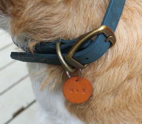 DIY, Broches de Cuero para Perros
