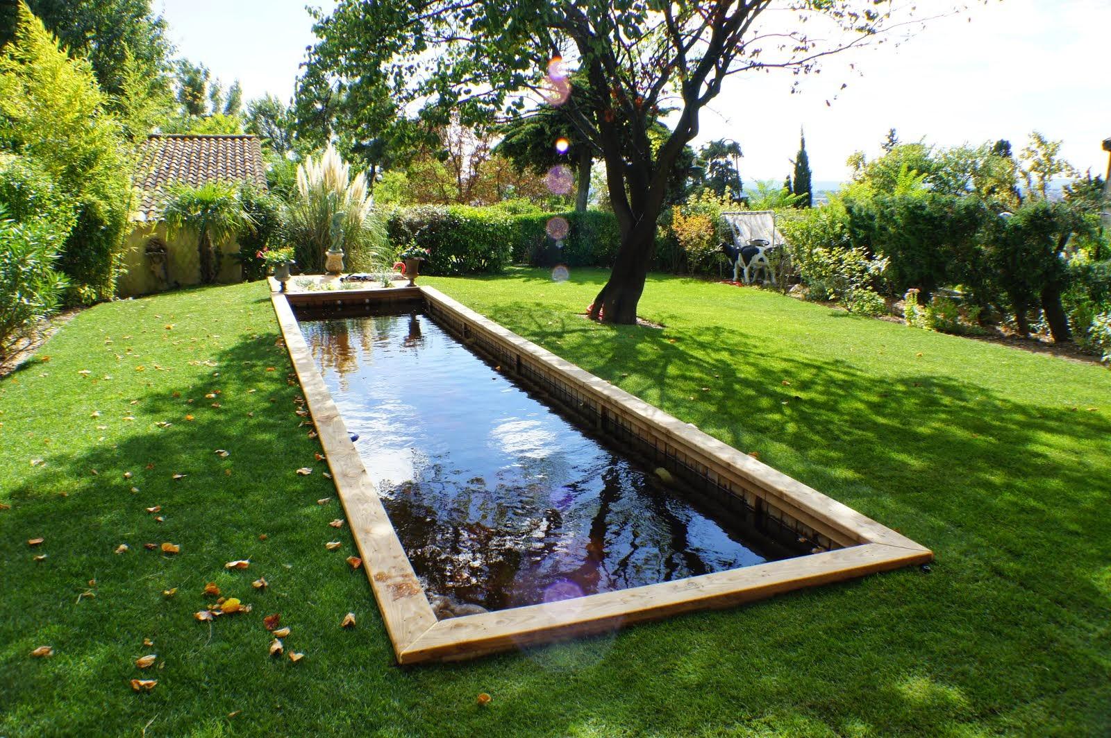 Une piscine ecologique paysagiste val d 39 oise cr ation for Piscine ecologique