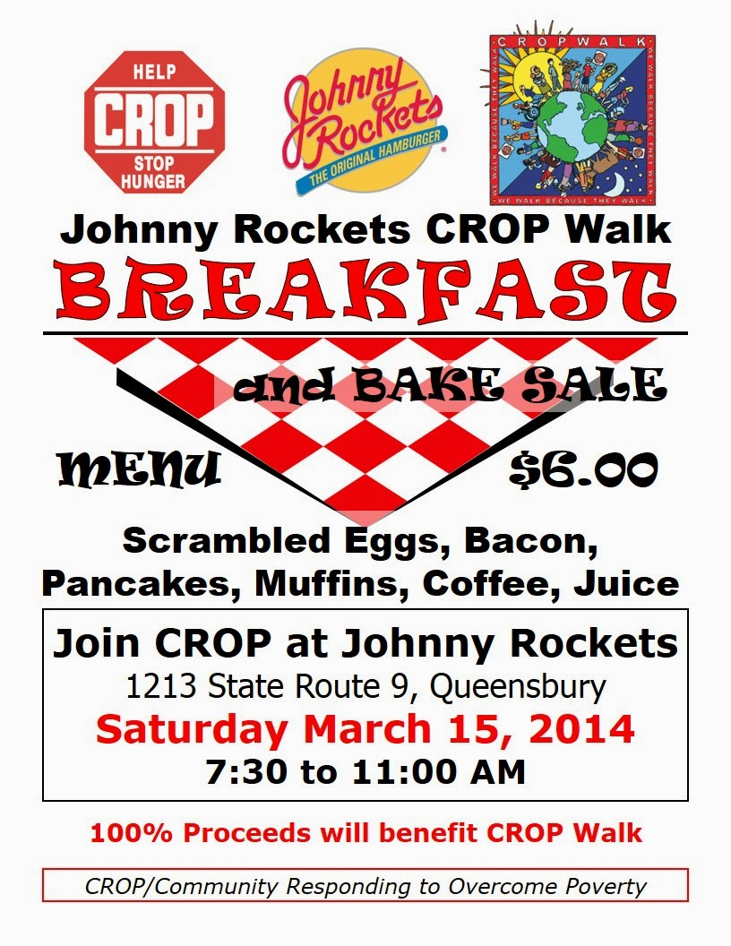 CROP BREAKFAST FUNDRAISER