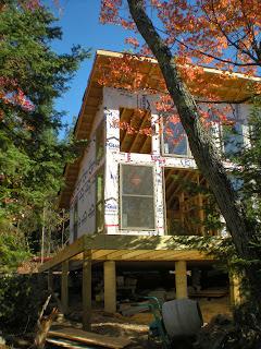 island cabin near Ely Minnesota, huisman