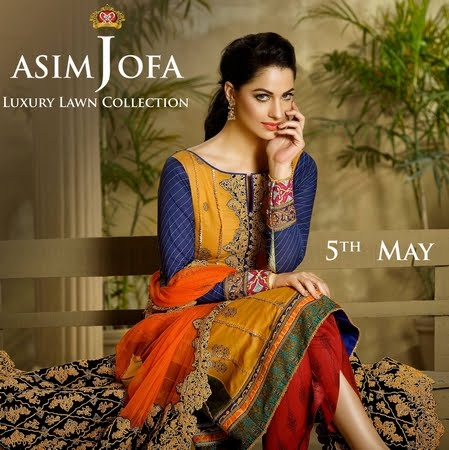 Buy Asim Jofa Luxury Lawn Here