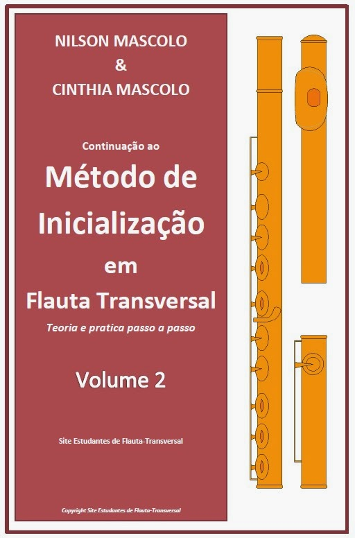 Método de Inicialização em Flauta Transversal - Vol. 2