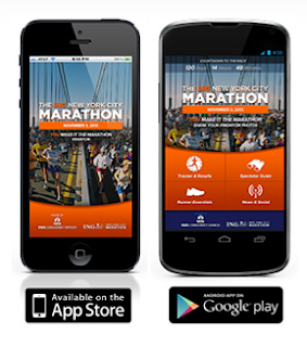 Photo of NYC Marathon mobile apps