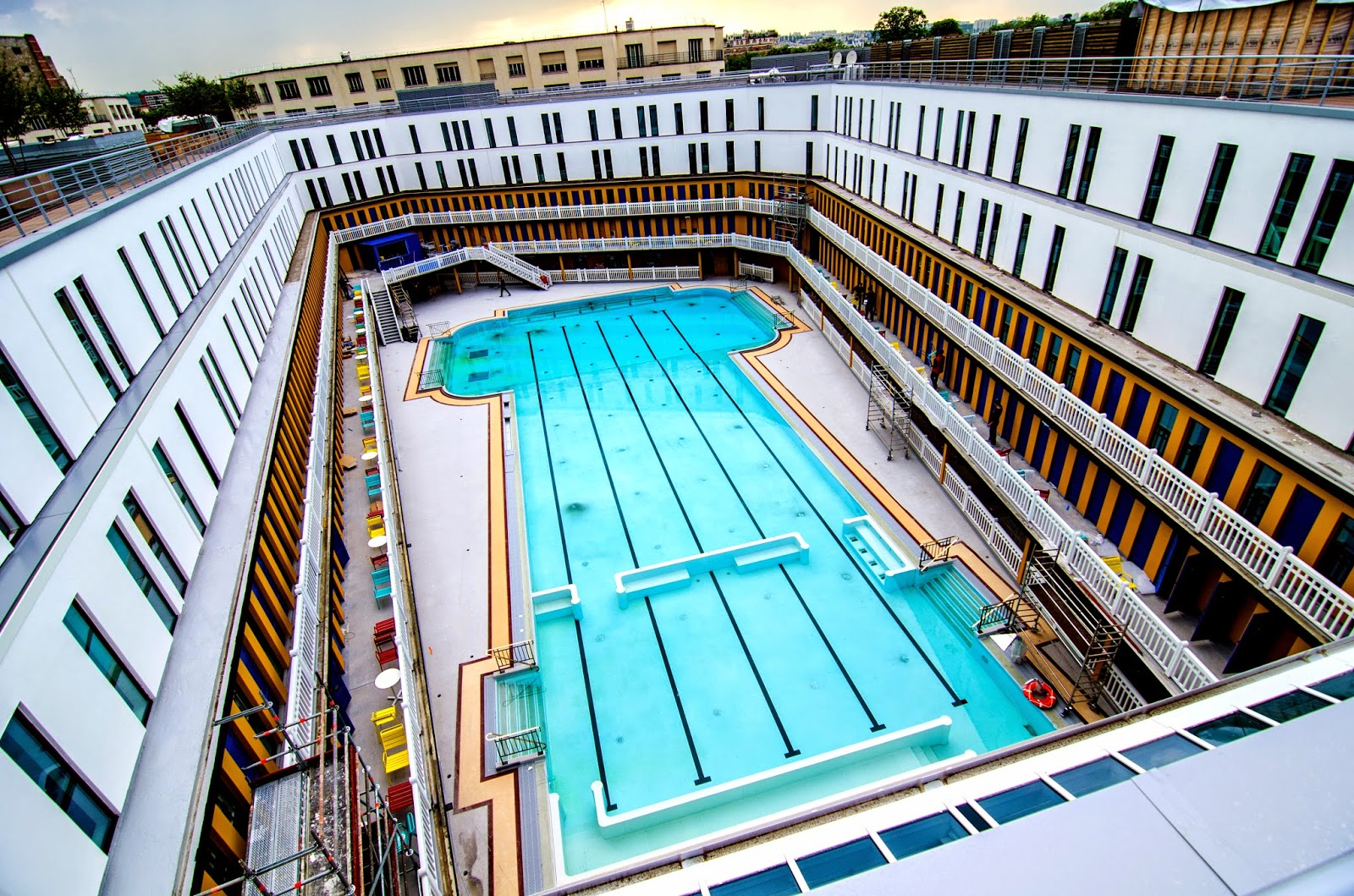 Parisdailyphoto may 2014 for Molitor swimming pool paris
