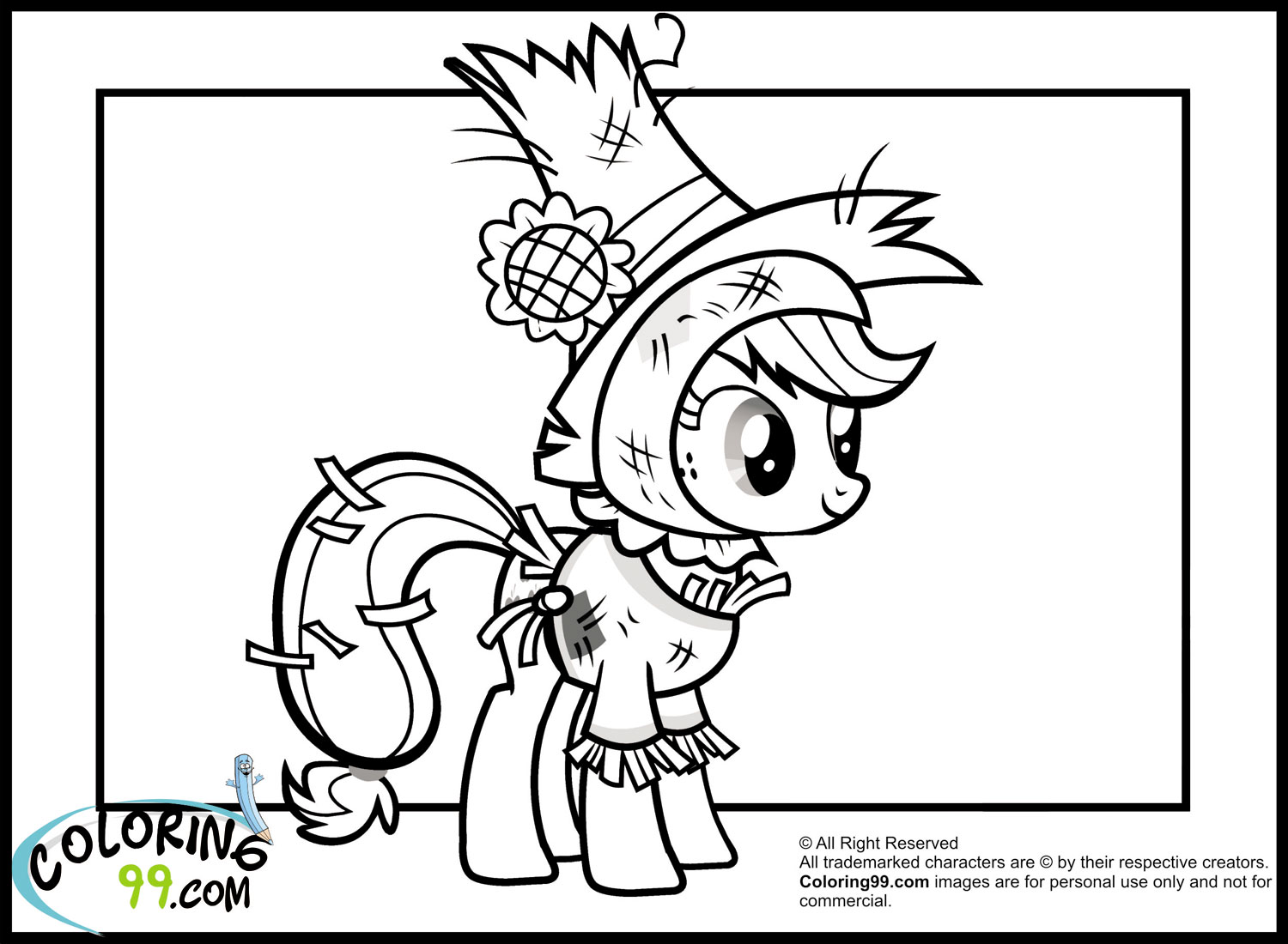 My Little Pony Coloring Pages Nightmare Moon : Free coloring pages