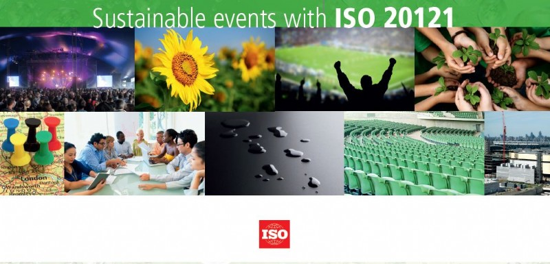 sustainable event management Iso 20121 (full name: iso 20121:2012, event sustainability management systems –- requirements with guidance for use) is a voluntary international standard for sustainable event management, created by the international organization for standardization.