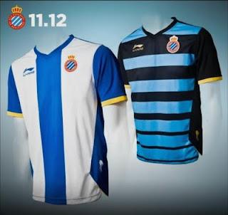 camisetas RCD Espanyol