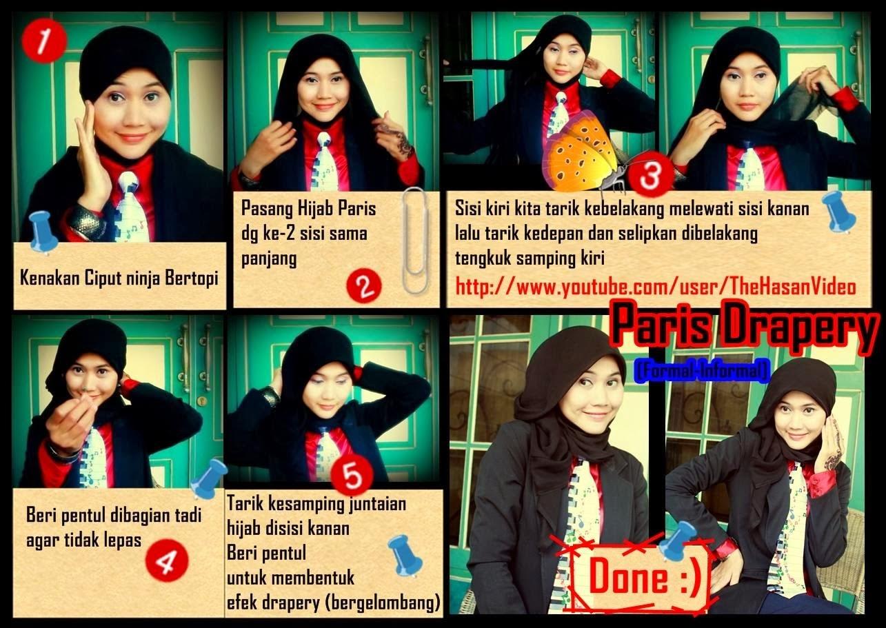 Hijab Segi Empat Untuk Sekolah