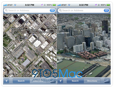 Apple's 3D mapping