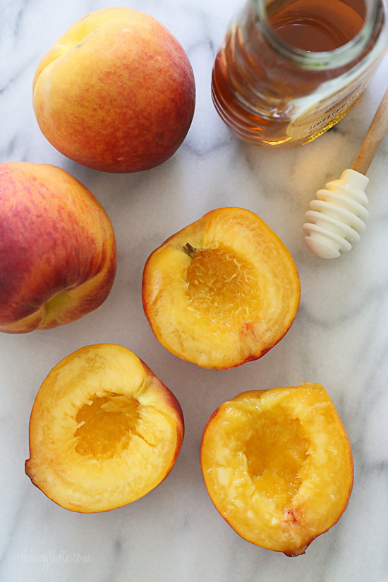 Grilled Peaches With Honey and Yogurt – an easy summer dessert for ...