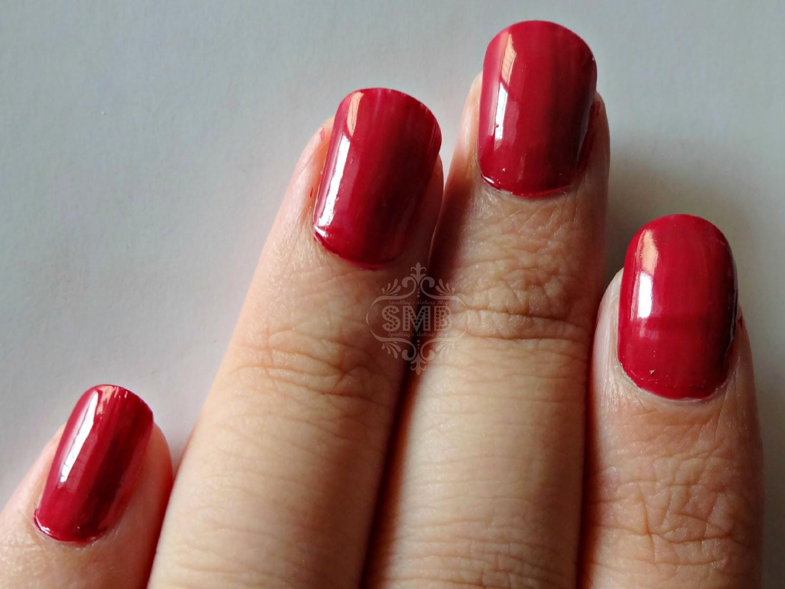 Inglot O2M breathable Nail Polish shade #689   Sparkling Palette Blog