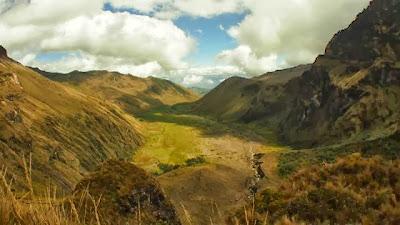 Turismo en Ecuador Senderismo