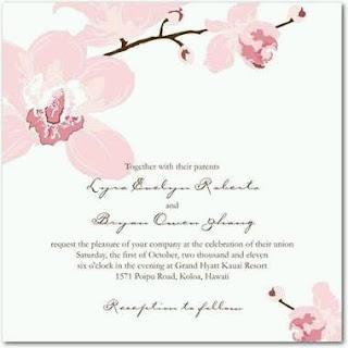 Invitaciones de Boda Color Rosado, parte 2