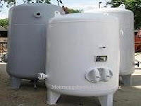 Bình lọc áp lực thép CT3 trong xử lý nước cấp