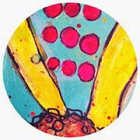 Art Journal Blog Button By Catherine Scanlon