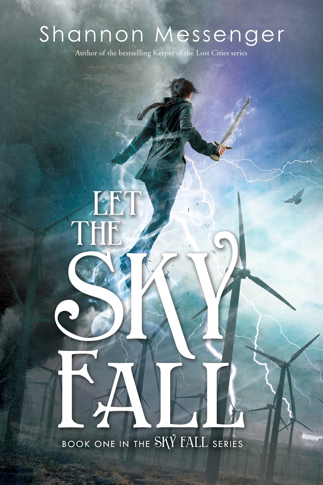 Image result for let the sky fall shannon messenger