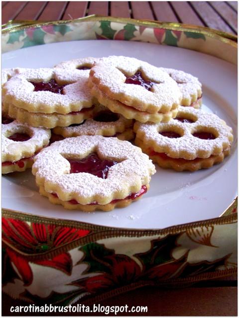 Biscotti Di Natale Tirolesi.Carotina Abbrustolita Spitzbuben O Biscotti Tirolesi Delle Feste